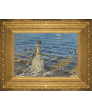 John Singer Sargent painting and frame