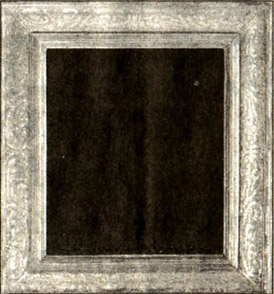 A carved, incised American frame