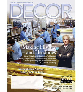 Decor: The Art & Framing Business Resource magazine cover