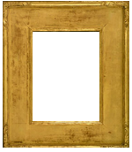American frame designed and carved by Hermann Dudley Murphy