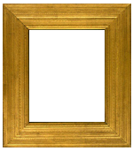 American, applied ornament and gilded frame