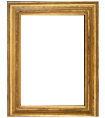 American frame carved with applied ornament and gilded