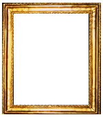 American carved and gilded frame by Charles Prendergast