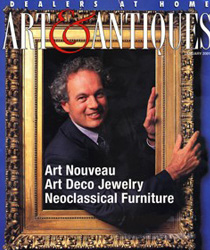 Cover of Art & Antiques magazine
