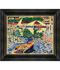 André Derain painting and frame