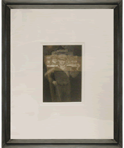 August Sander's iconic photo 'Handlanger' and frame