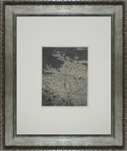 Alfred Stieglitz's Out of Window platinum print with frame